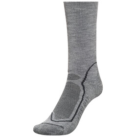 Icebreaker Hike+ Medium Crew Socks Men twister hthr/black/monsoon